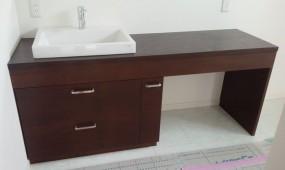 洗面収納台